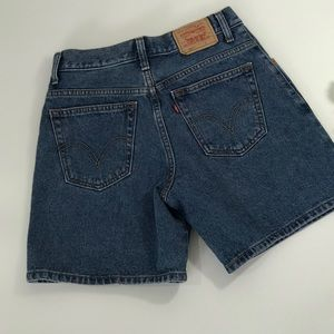 Levi's 550's High Waisted Mom Shorts